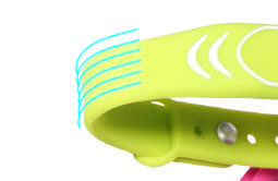 RS-AW001 Silicone Passive RFID Wristband Access Control-5