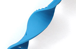 Silicone wristband with perfect softness