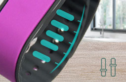 RS-AW012 Adjustable Silicone UHF RFID Wristband