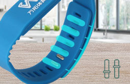 RS-AW021 RFID Silicone Bracelets Adjustable