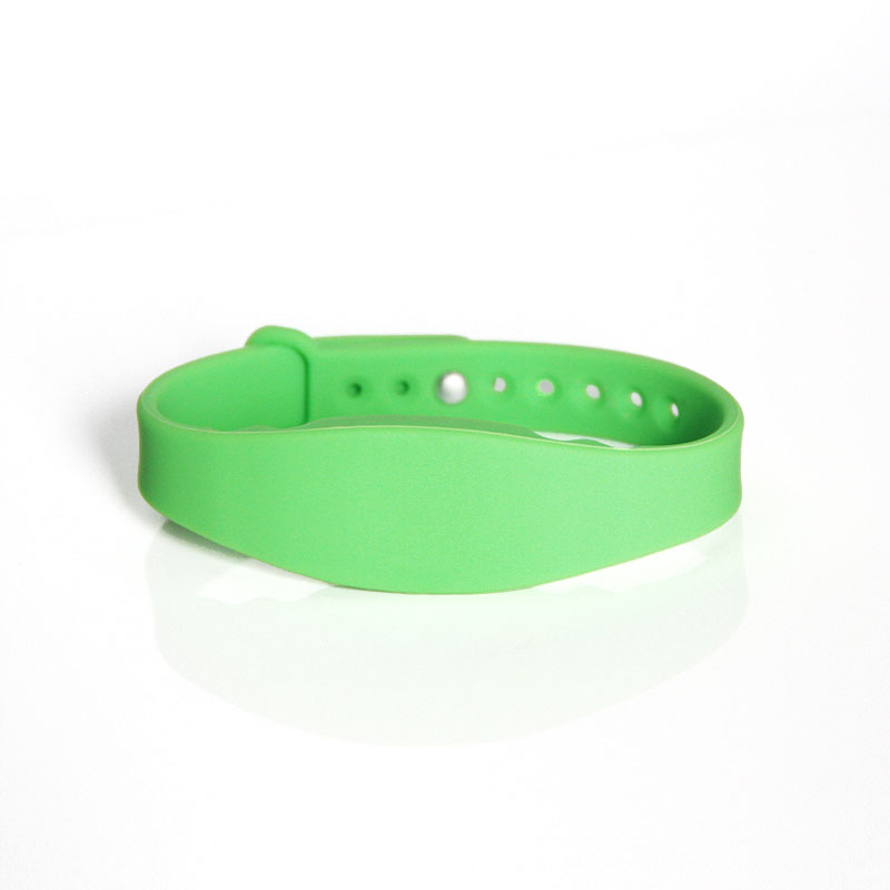 Reusable Silicone 125KHz RFID Bracelet For Swimming Pool