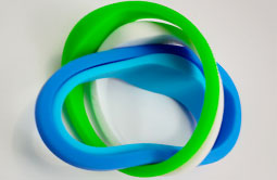 Soft Silicone RFID Bracelet For Event