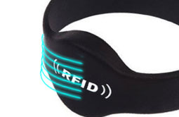 RS-CW002 silicone RFID wristbands waterproof Bracelets