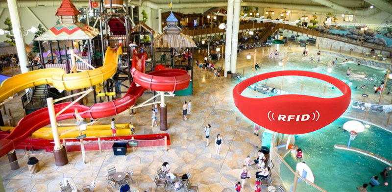 Use RFID Wristband Application At Water Park