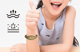 Easy Wearable RFID Silicone Wristband Bracelet RS-CW004