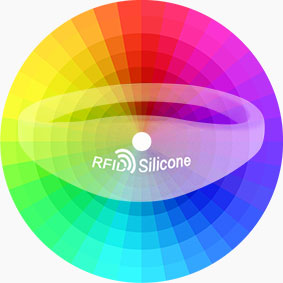 RFID Silicone Wristband Bracelet Color