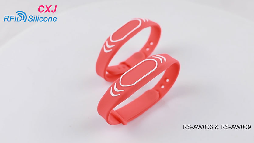 RFID Silicone Wristband RS-AW003/AW009