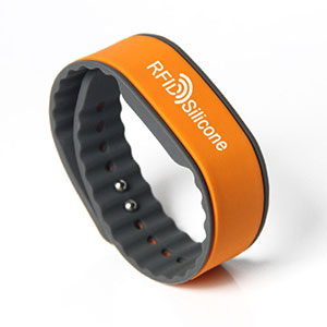 Custom RFID Bracelet Eco-friendly Silicone MIFARE 1K/4K Wristband