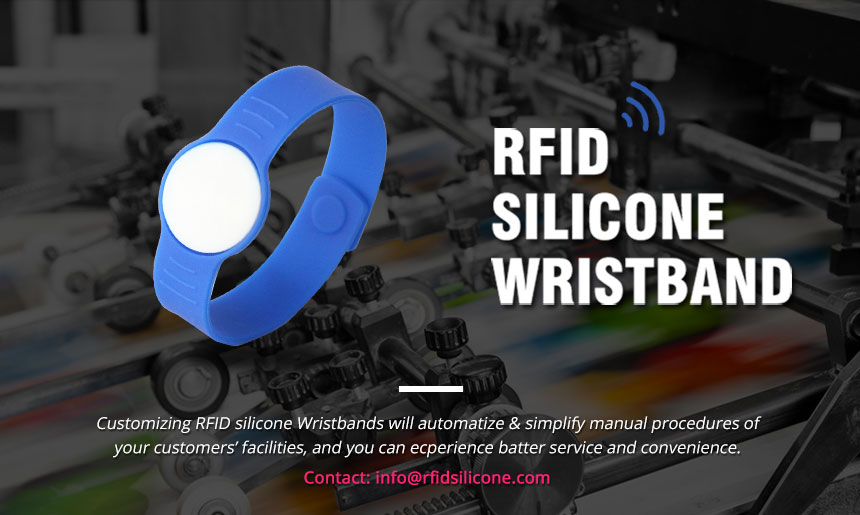 RS-AW056 Silicone Buckle RFID Wristbands For Hotels