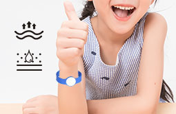 RS-AW056 Wearable Silicone Buckle RFID Wristbands For Hotels