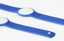 Thin and light thickness RFID wristband RS-AW056