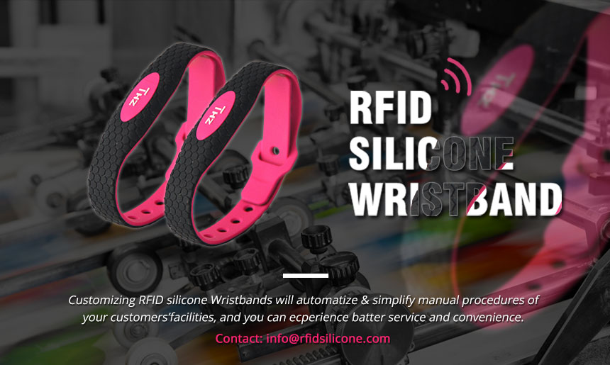Best Silicone RFID Wristbands Cost for Events RS-AW032