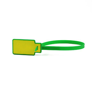 Custom PP RFID Cable Tie Tags UHF 860-960MHz RFID Labels