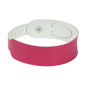 Cheap Leather Bracelets Personalized NFC Wristbands For Events