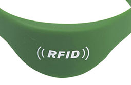 Strictly FDA, SGS, ROHS certified wristband