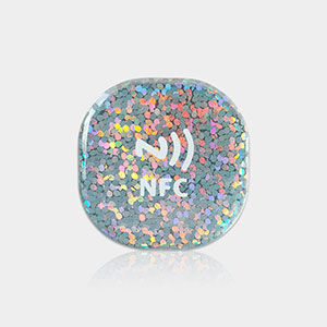 Hot Sale Shiny NFC Epoxy Tags for Social Media | RS-NET004