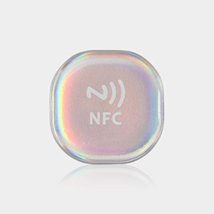 Waterproof NFC Social Tag Phone RFID Epoxy Stickers | RS-NET003